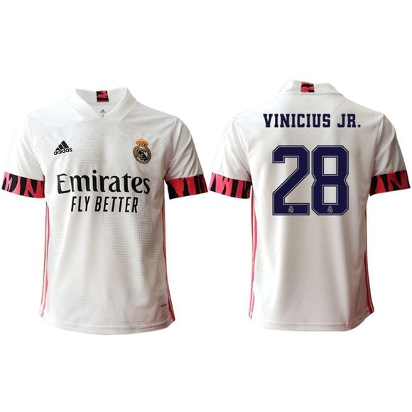 Other - Real Madrid Vinícius White 20-21 Jersey